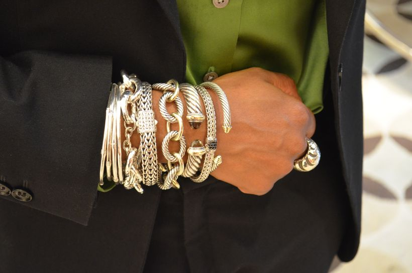 Stacked arm candies jewelry ideas 104