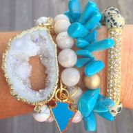 Stacked arm candies jewelry ideas 106
