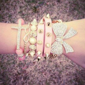 Stacked arm candies jewelry ideas 110