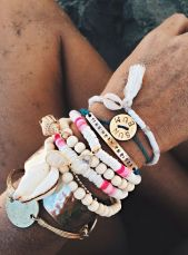 Stacked arm candies jewelry ideas 111