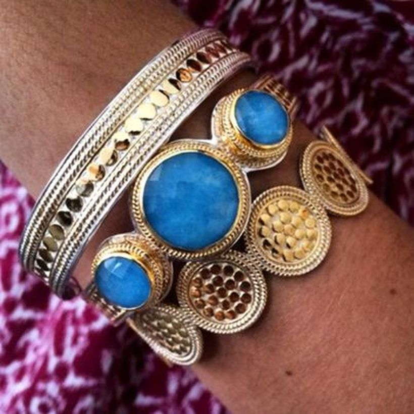 Stacked arm candies jewelry ideas 116