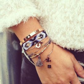 Stacked arm candies jewelry ideas 21