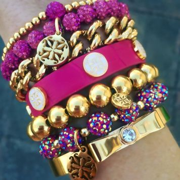 Stacked arm candies jewelry ideas 29