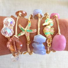 Stacked arm candies jewelry ideas 3
