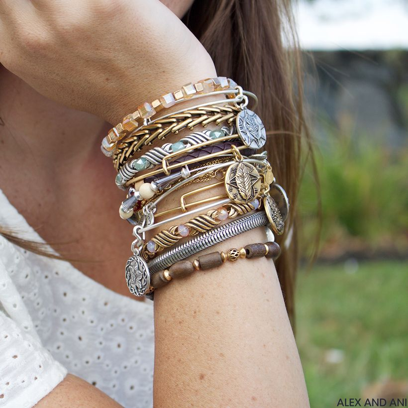 Stacked arm candies jewelry ideas 31
