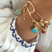 Stacked arm candies jewelry ideas 33