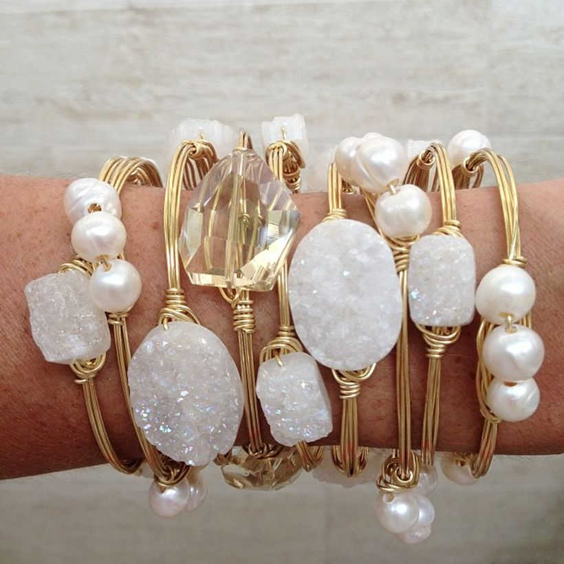 Stacked arm candies jewelry ideas 42