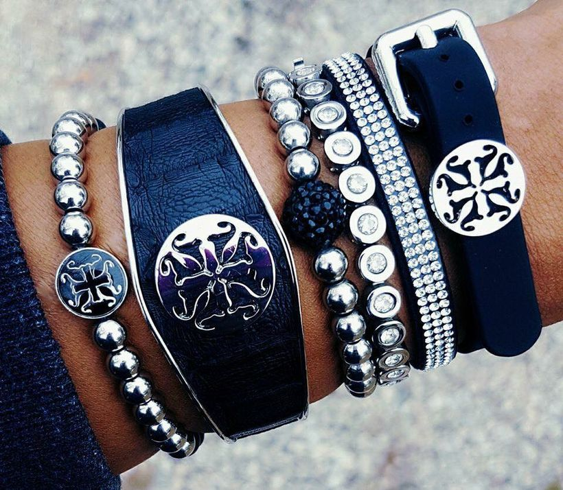 Stacked arm candies jewelry ideas 46