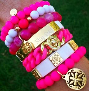 Stacked arm candies jewelry ideas 49