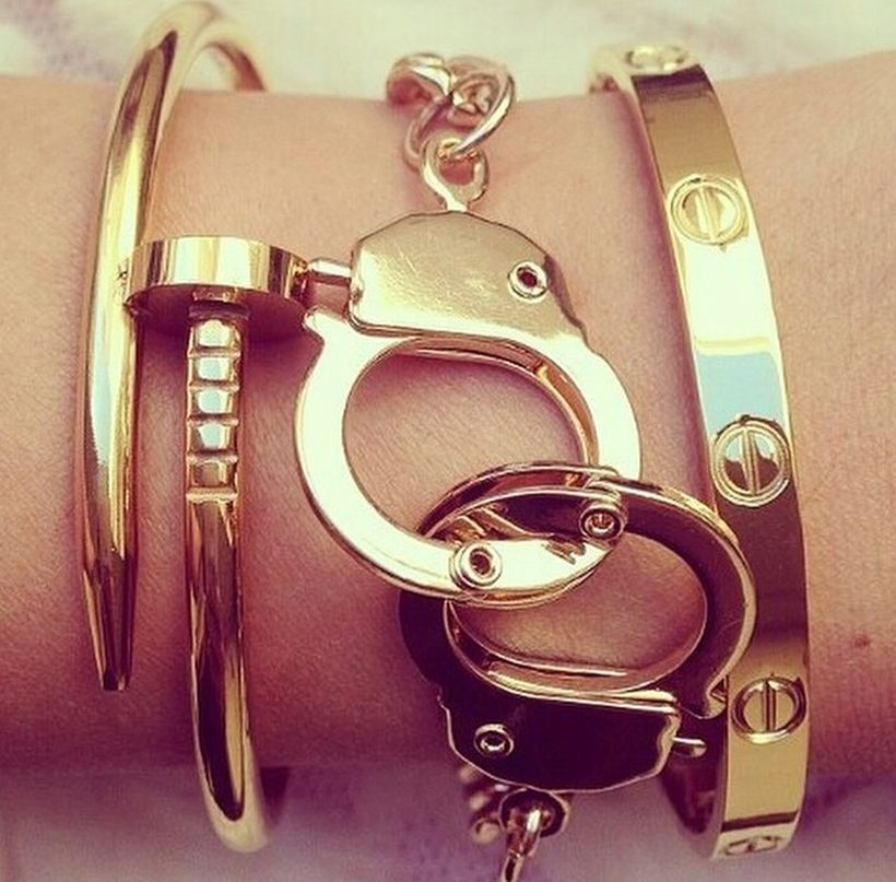 Stacked arm candies jewelry ideas 53