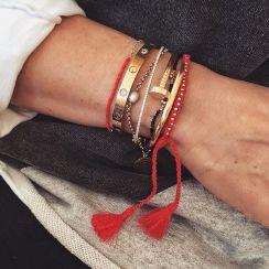 Stacked arm candies jewelry ideas 58