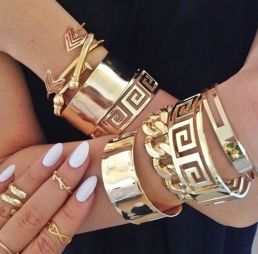 Stacked arm candies jewelry ideas 60