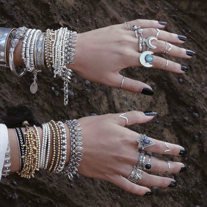 Stacked arm candies jewelry ideas 69