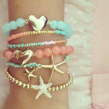 Stacked arm candies jewelry ideas 72