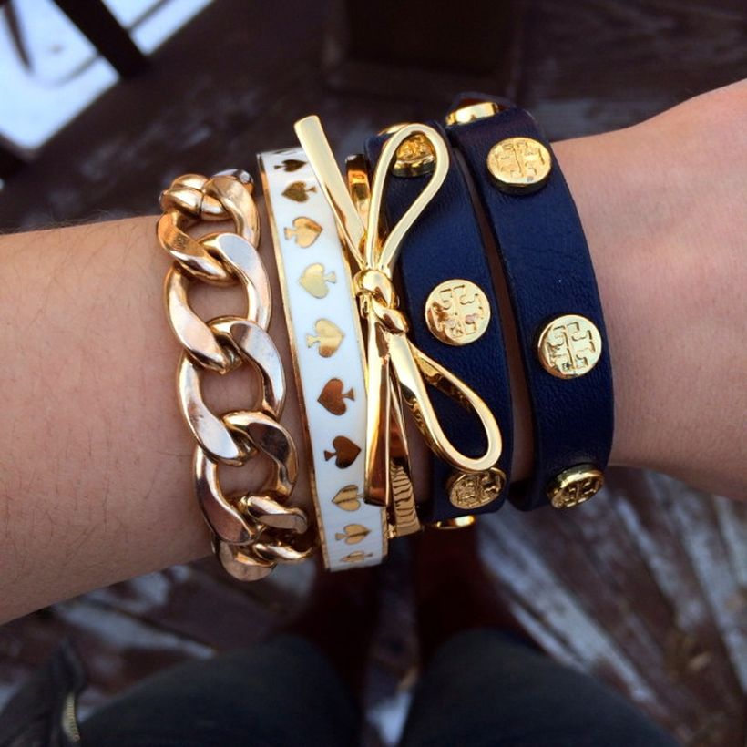 Stacked arm candies jewelry ideas 75