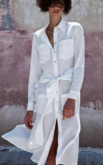 Stunning white shirtdresses outfits 13