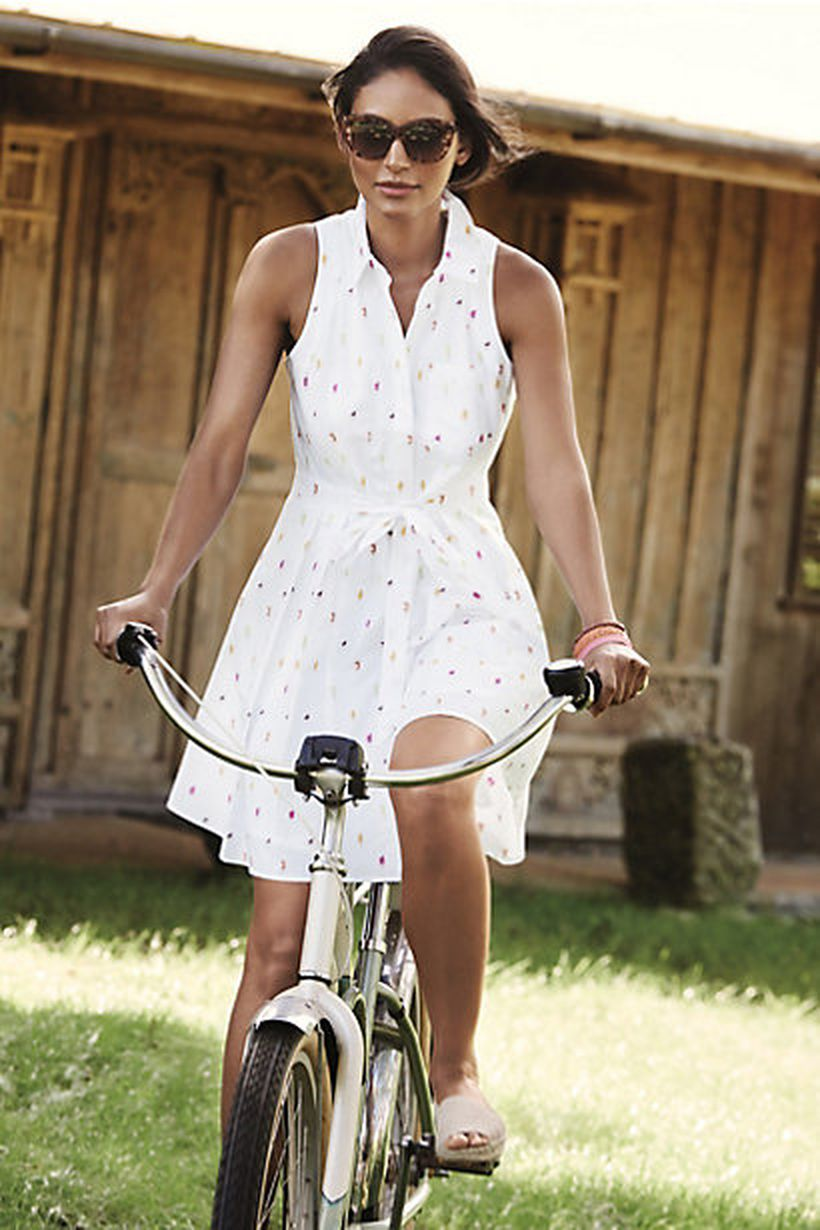 Stunning white shirtdresses outfits 25