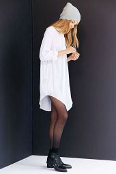 Stunning white shirtdresses outfits 30