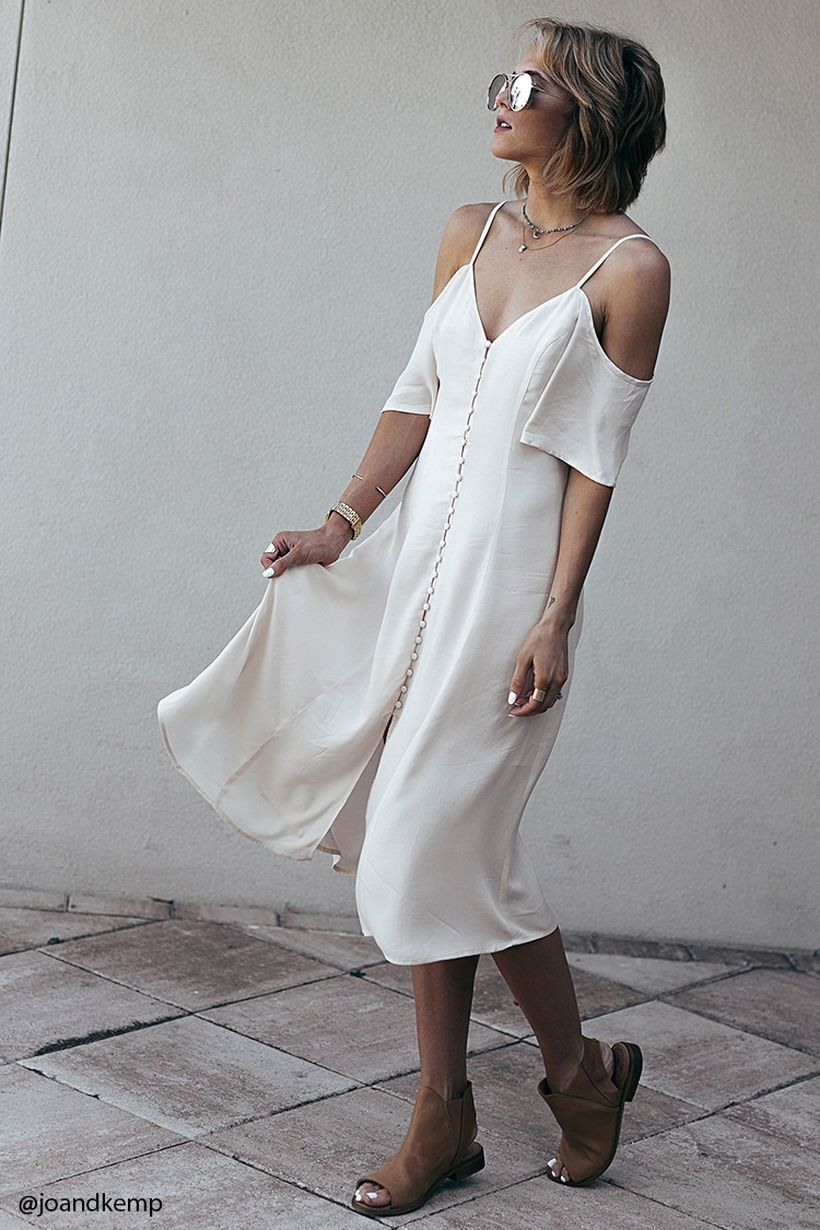 Stylish open shoulder dress outfits 2017 107