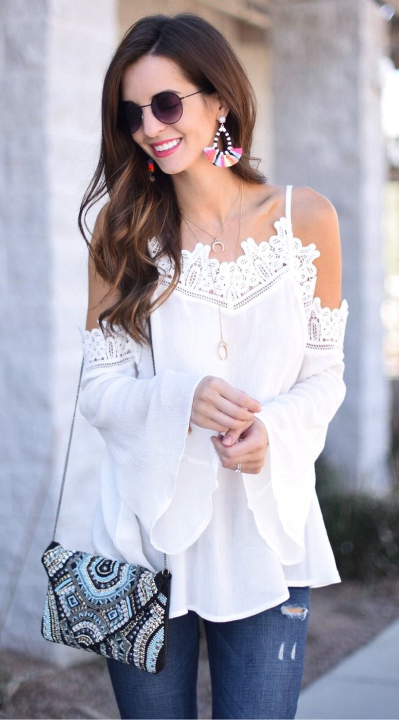 Stylish open shoulder dress outfits 2017 41
