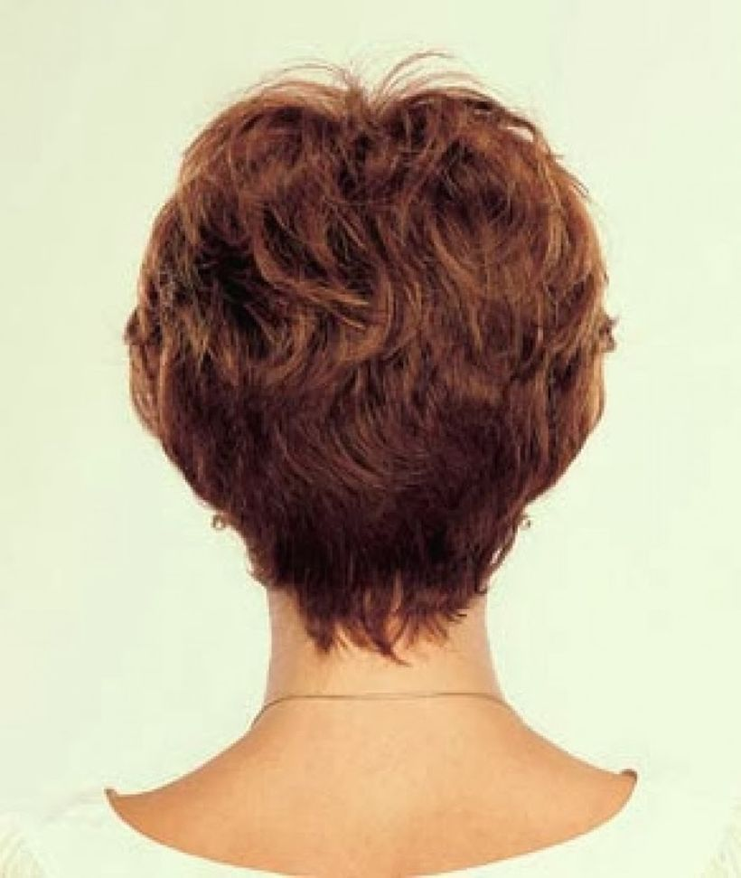 Stylist back view short pixie haircut hairstyle ideas 1
