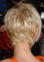 Stylist back view short pixie haircut hairstyle ideas 10