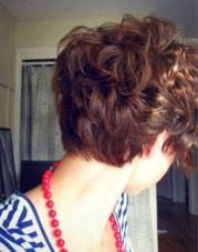 Stylist back view short pixie haircut hairstyle ideas 47