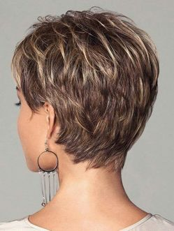 Stylist back view short pixie haircut hairstyle ideas 54