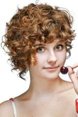 Stylist naturally curly haircuts ideas 25