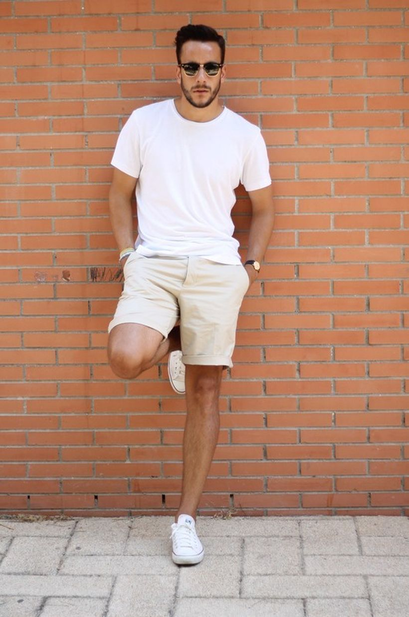 Summer casual men clothing ideas 13
