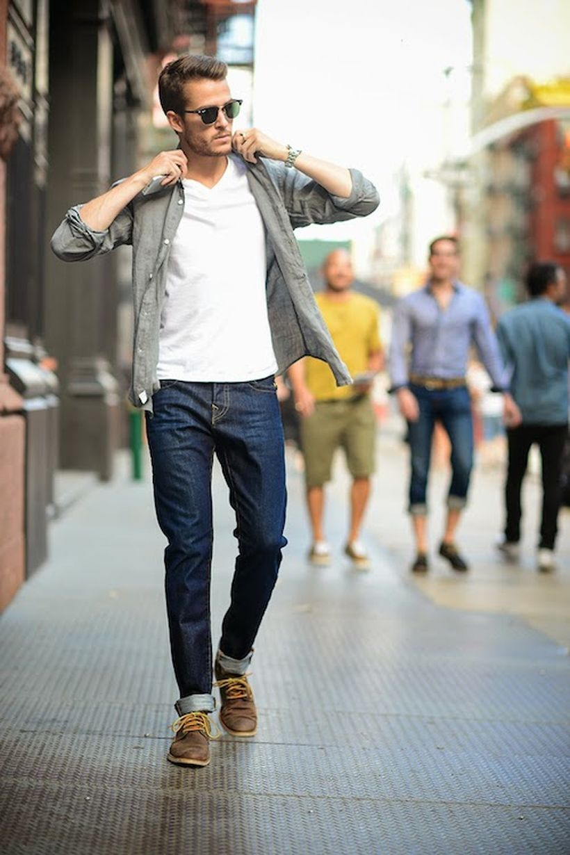 Summer casual men clothing ideas 14