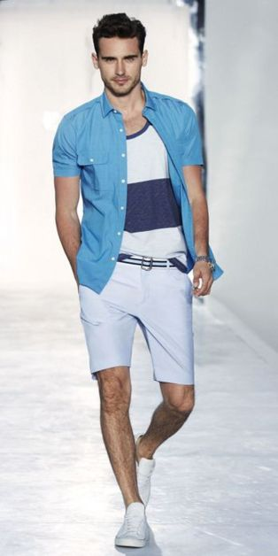 Summer casual men clothing ideas 6