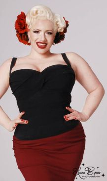 Vintage plus size rockabilly fashion style outfits ideas 100