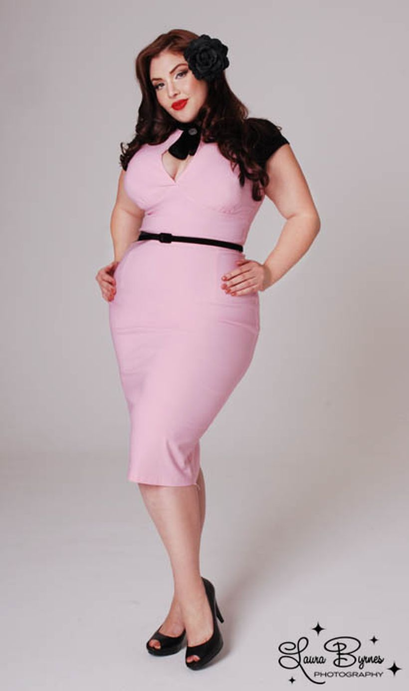 Vintage plus size rockabilly fashion style outfits ideas 104