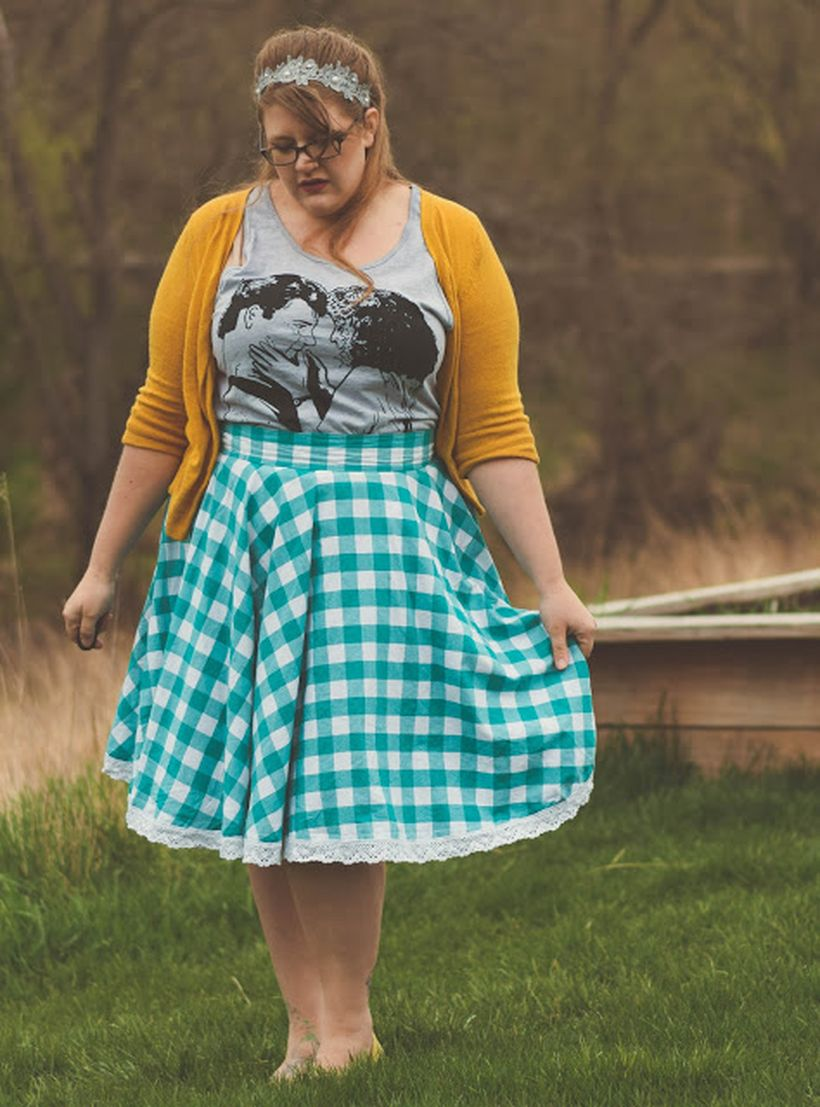 Vintage plus size rockabilly fashion style outfits ideas 37