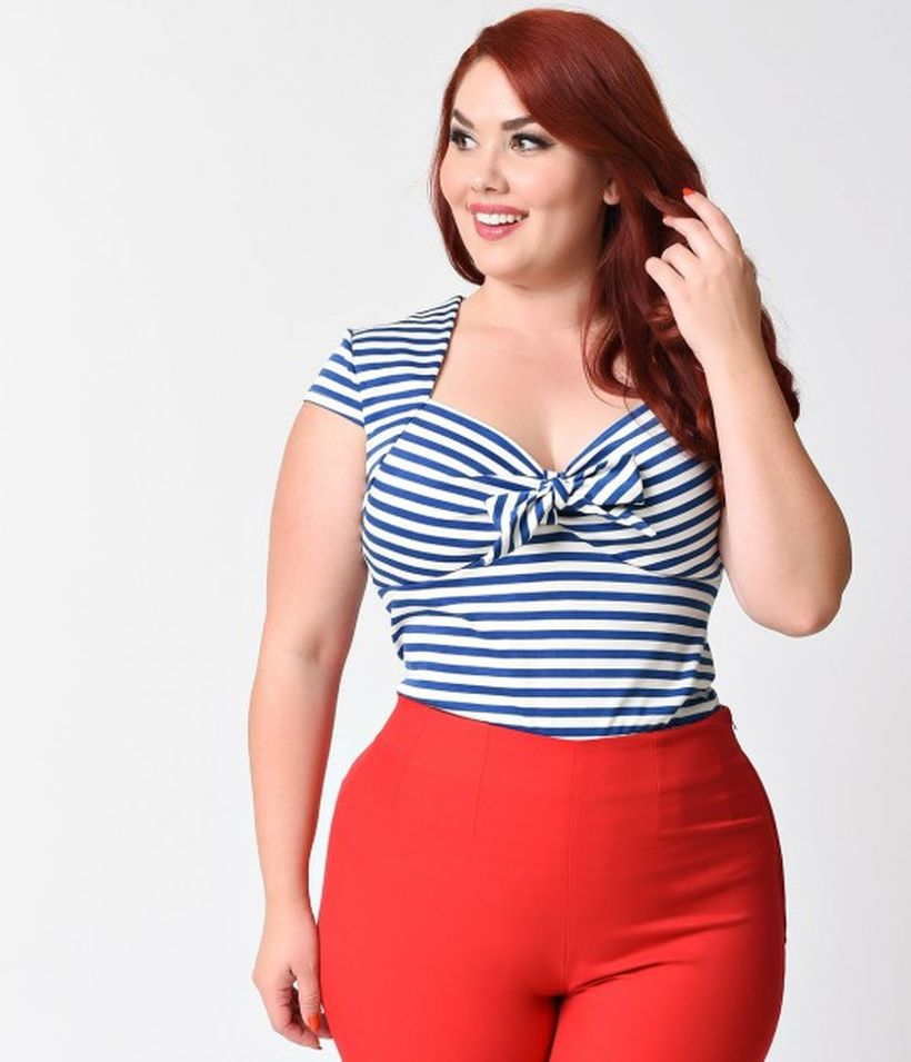 Vintage plus size rockabilly fashion style outfits ideas 49