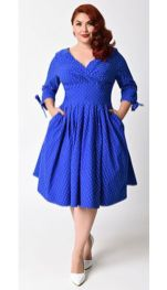 Vintage plus size rockabilly fashion style outfits ideas 52
