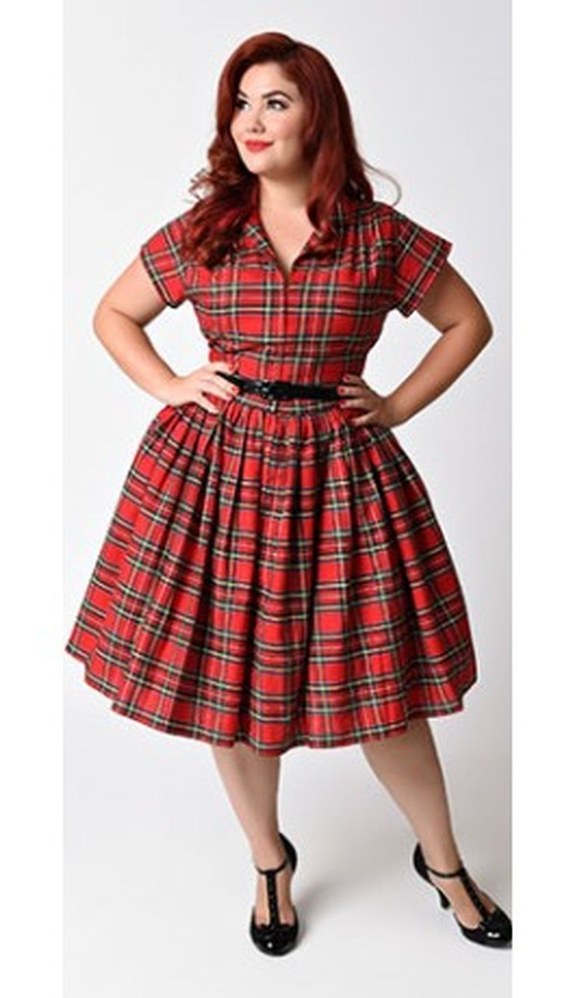 Vintage plus size rockabilly fashion style outfits ideas 61