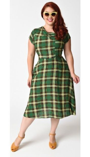 Vintage plus size rockabilly fashion style outfits ideas 69