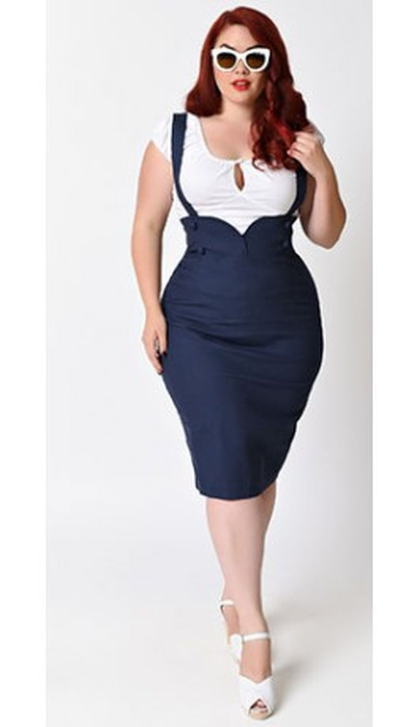 Vintage plus size rockabilly fashion style outfits ideas 7