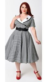 Vintage plus size rockabilly fashion style outfits ideas 72