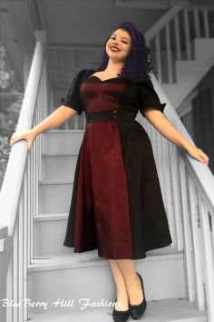 Vintage plus size rockabilly fashion style outfits ideas 74