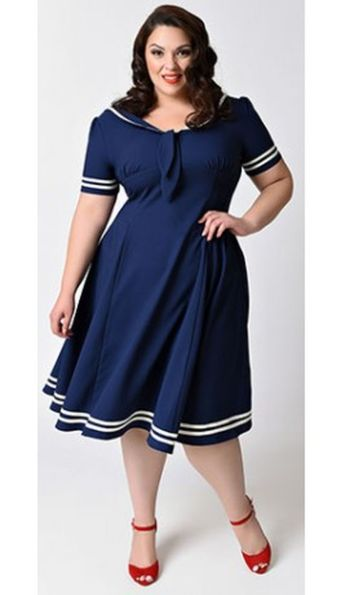 Vintage plus size rockabilly fashion style outfits ideas 81