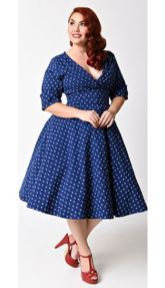 Vintage plus size rockabilly fashion style outfits ideas 92