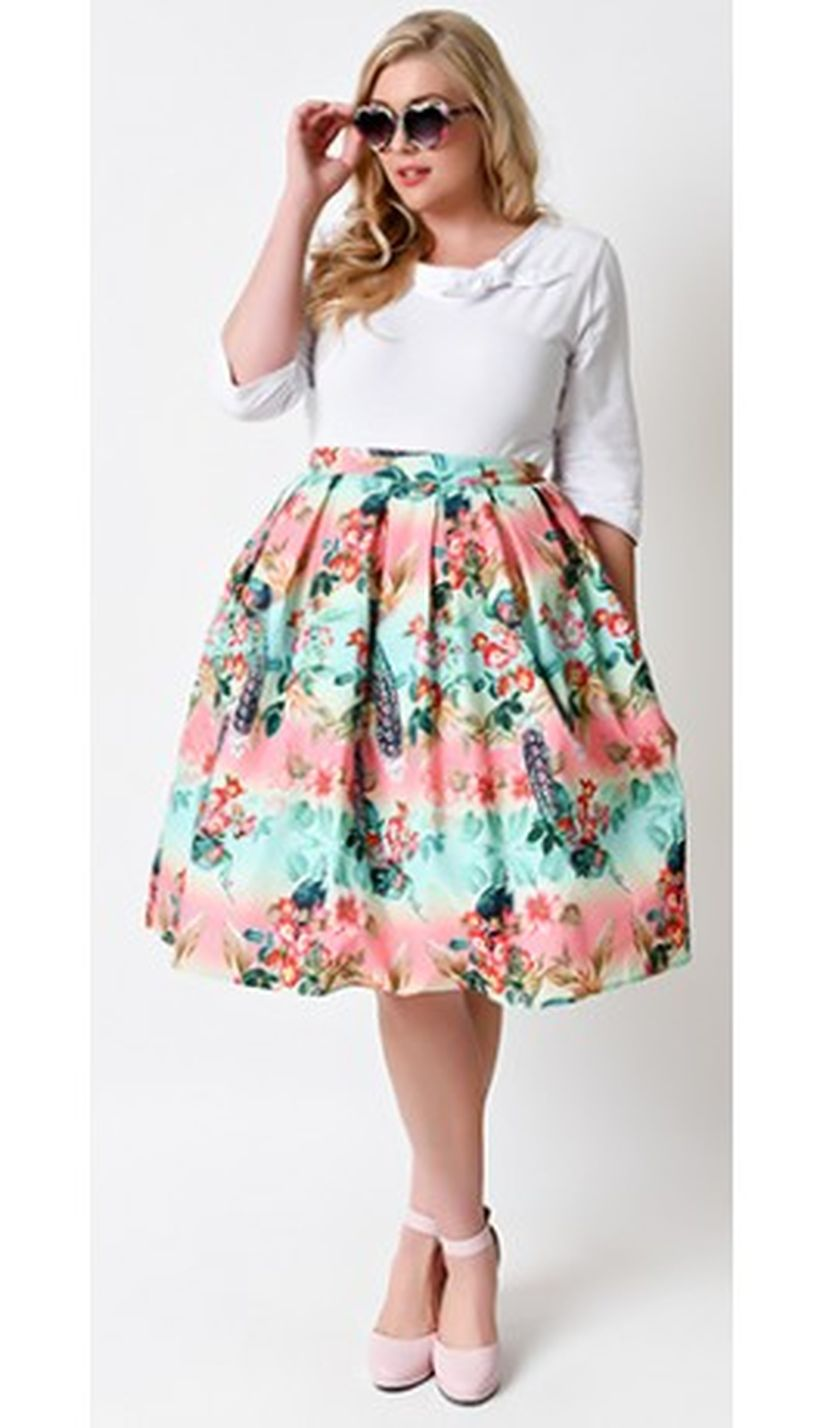 Vintage plus size rockabilly fashion style outfits ideas 99