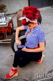 Vintage rockabilly fashion style outfits 26