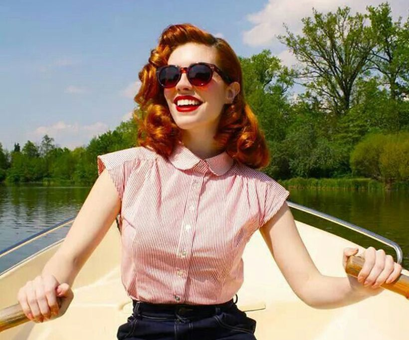 Vintage rockabilly fashion style outfits 4