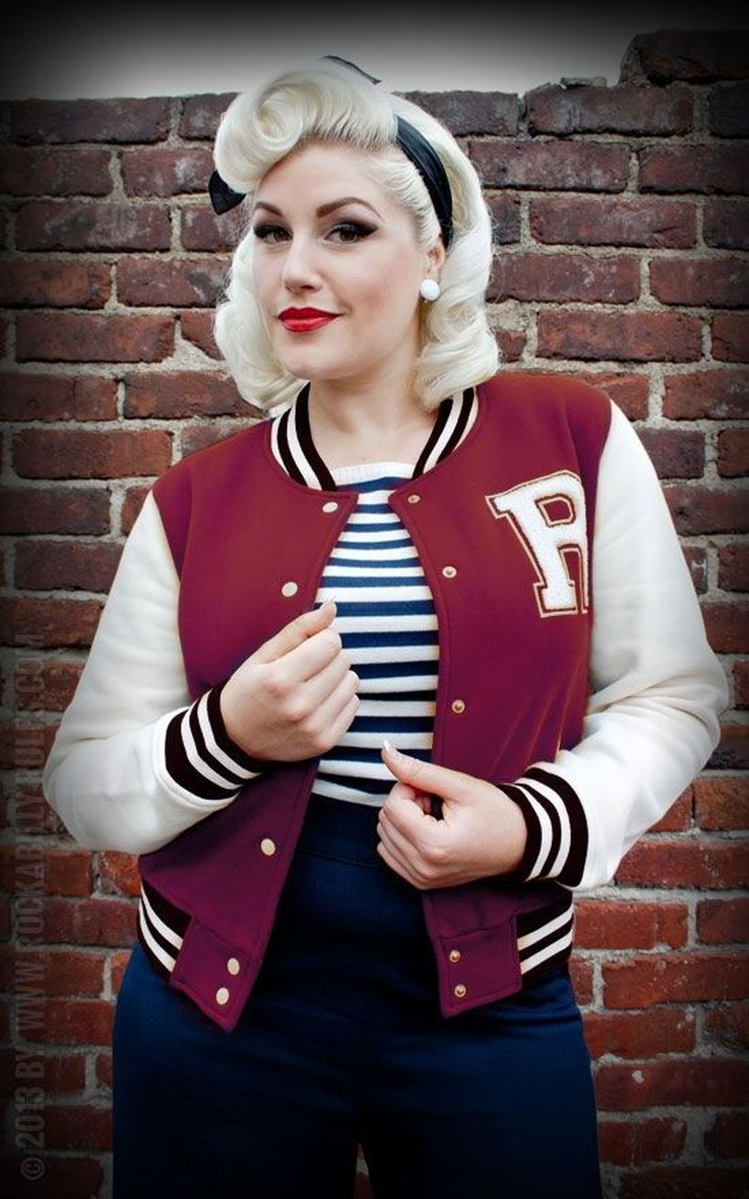 Vintage rockabilly fashion style outfits 5