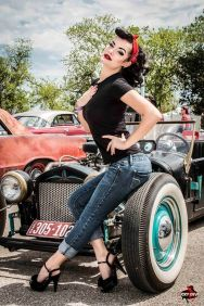 Vintage rockabilly fashion style outfits 51