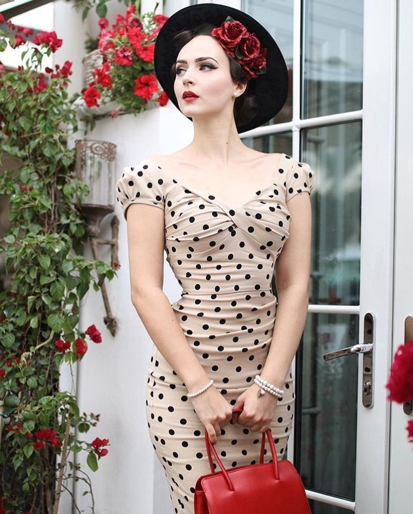 Vintage rockabilly fashion style outfits 7
